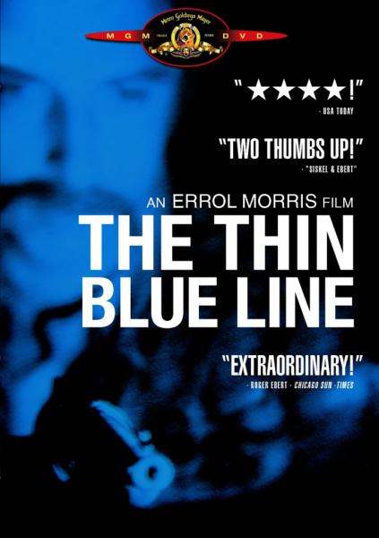 an analysis of the thin blue line a movie by errol morris As morris said of the film, the thin blue line is two movies grafted together on one simple level is the question, did he do it, or didn't he.